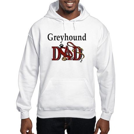 Greyhound Dad Hooded Sweatshirt