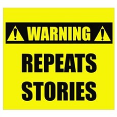 WARNING: Repeats Stories Poster