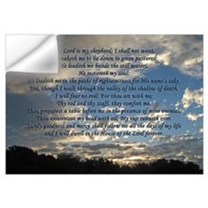 Beautiful Psalm 23 Wall Decal