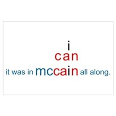 McCain Can! Poster