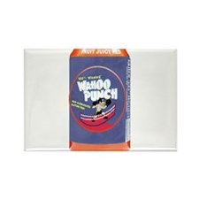 Wahoo Punch Rectangle Magnet
