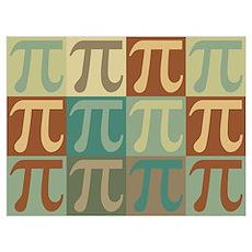 Math Pop Art Poster