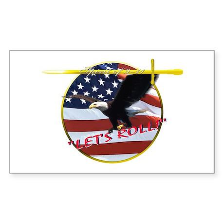 9-11 Sticker (Rectangle)