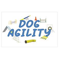 Dog Agility Poster