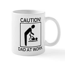 Caution! Dad at Work! Baby Di Mug