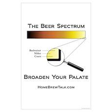 Beer Spectrum 14x10 Poster