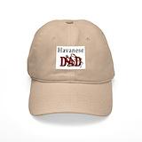 Havanese dog Baseball Cap