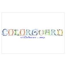 Colorguard Fancy Poster