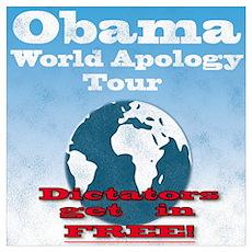 Obama World Apology Tour Poster