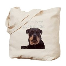 Tote Bag featuring a Rottweiler