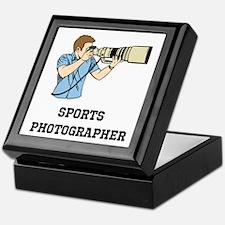 Sports Photographer Keepsake Box