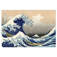 Kanagawa The Great Wave Poster