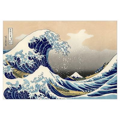 Kanagawa The Great Wave Poster