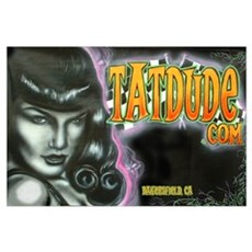 Tatdude Bettie Poster