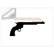 Jesse James Quote Wall Decal