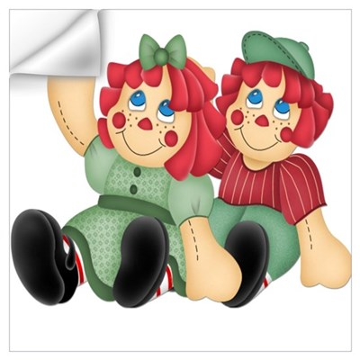 Raggedy Ann & Andy Doll's Wall Decal