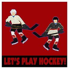Hockey Boys Poster