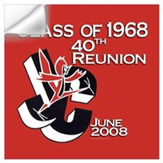 High School Reunion Wall Decal