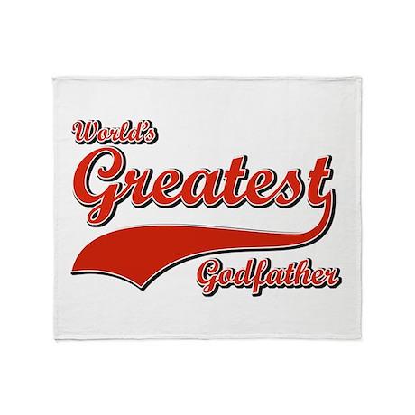 World's greatest God father Throw Blanket