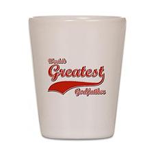 World's greatest God father Shot Glass