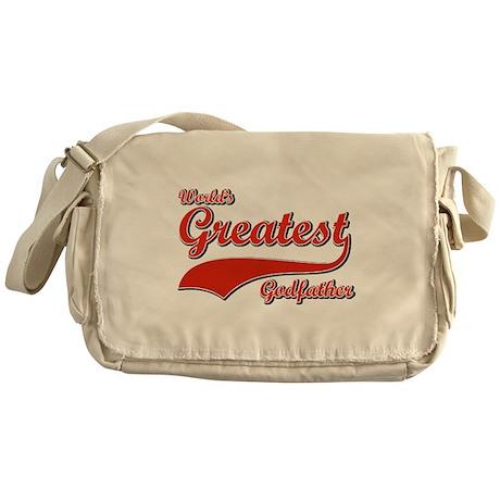 World's greatest God father Messenger Bag