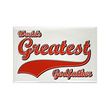 World's greatest God father Rectangle Magnet
