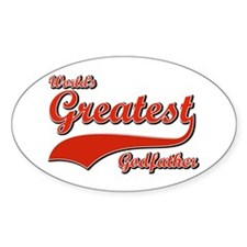 World's greatest God father Decal