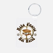 Make Smores Not Wars Keychains