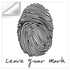 Leave your Mark - Black Wall Decal