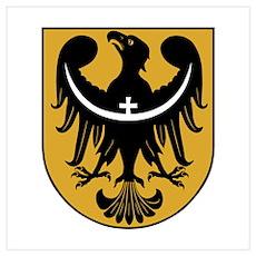 Dolny Slask, Poland crest Poster