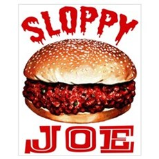 Painted Sloppy Joe Canvas Art
