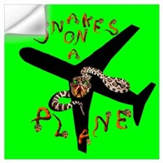 Snakes on a Plane - Now Boarding Wall Decal