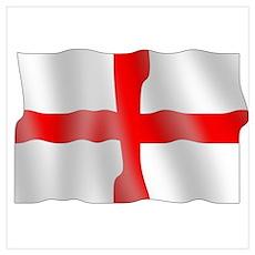 English flag Poster