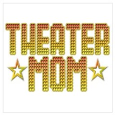 Theater Mom Framed Print