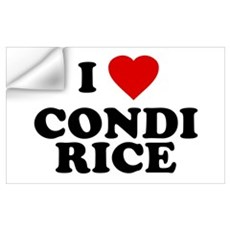 I love [heart] Condi Rice Wall Decal