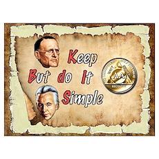 BILL, BOB KEEP IT SIMPLE Poster
