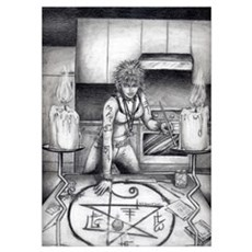 Kitchen Witch Poster