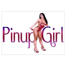 Sexy Pinup Girl Poster
