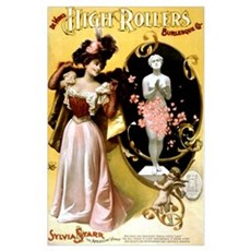High Rollers Sylvia Starr Poster