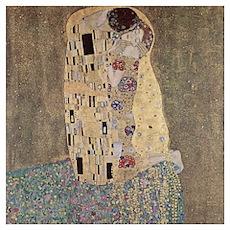 "Klimt's ""The Kiss"" Poster"
