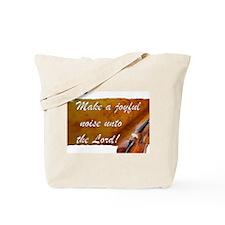 Joyful Violin Tote Bag