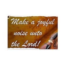 Joyful Violin Rectangle Magnet