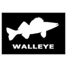 Walleye. Just Walleye Poster