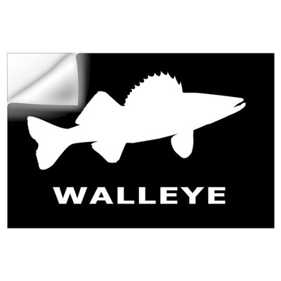 Walleye. Just Walleye Wall Decal