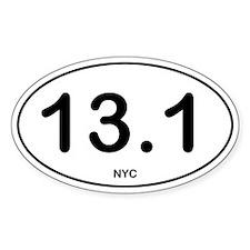 NYC Half Marathon Decal
