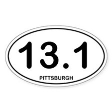 Pittsburgh Half Marathon Decal