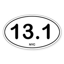 NYC Half Marathon Decal