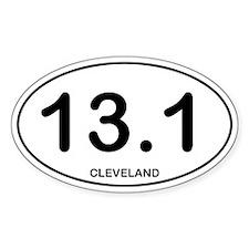 Cleveland Half Marathon Decal