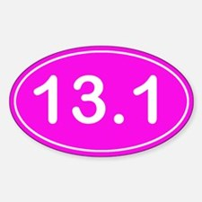 Half Marathon *pink* Decal