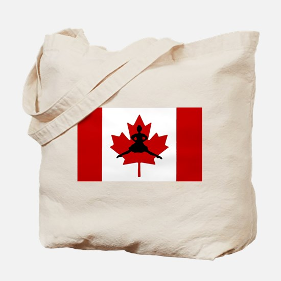 Maple Leap Tote Bag